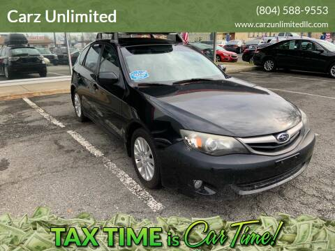 2010 Subaru Impreza for sale at Carz Unlimited in Richmond VA
