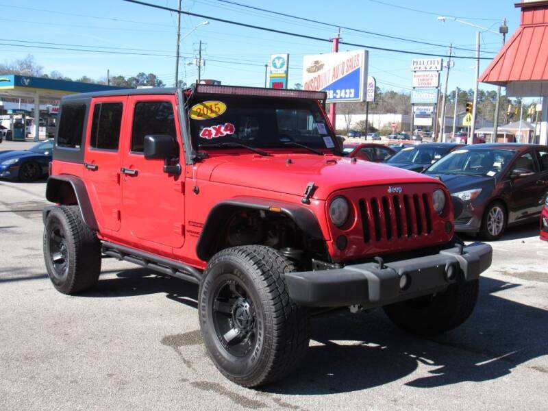 2015 Jeep Wrangler Unlimited for sale at Discount Auto Sales in Pell City AL