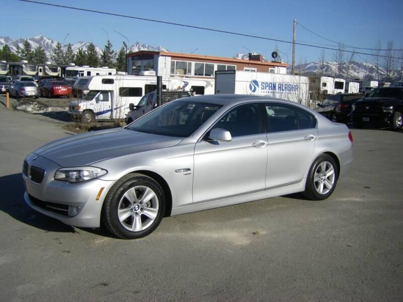 2012 BMW 5 Series for sale at NORTHWEST AUTO SALES LLC in Anchorage AK