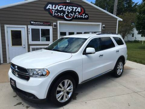2013 Dodge Durango for sale at Augusta Tire & Auto in Augusta WI