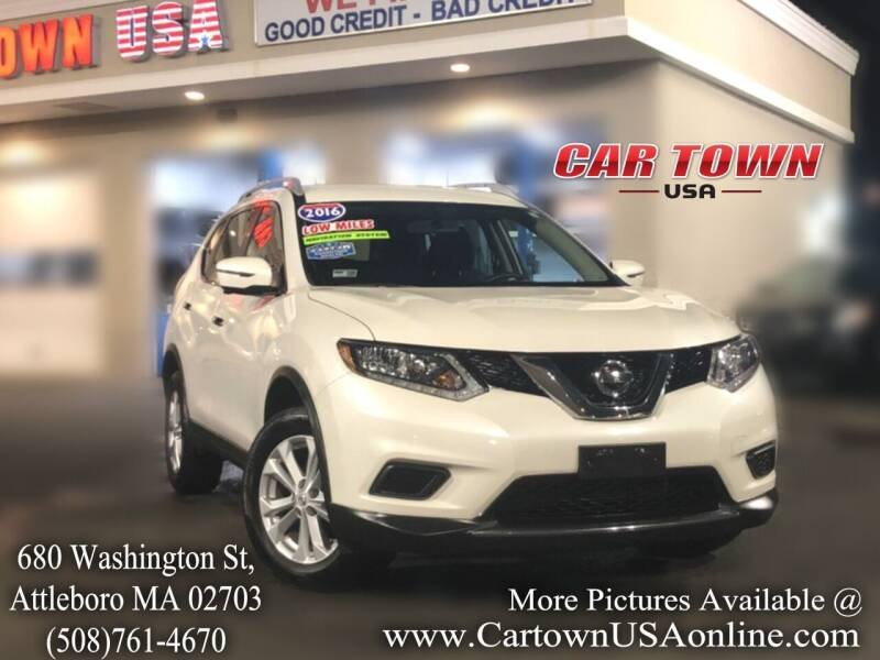 2016 Nissan Rogue for sale at Car Town USA in Attleboro MA