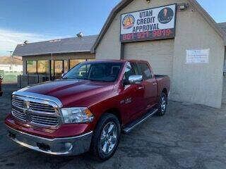 2014 RAM Ram Pickup 1500 for sale at Utah Credit Approval Auto Sales in Murray UT