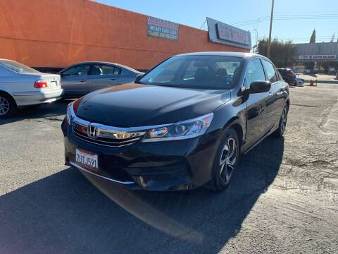 2017 Honda Accord for sale at City Motors in Hayward CA