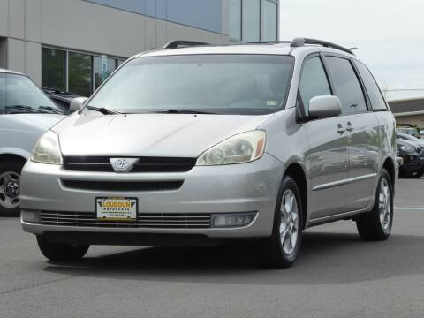 2005 Toyota Sienna for sale at Loudoun Used Cars - LOUDOUN MOTOR CARS in Chantilly VA