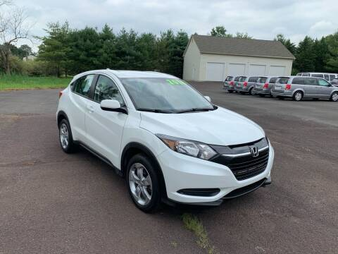 2016 Honda HR-V for sale at Interstate Fleet Inc. Auto Sales in Colmar PA