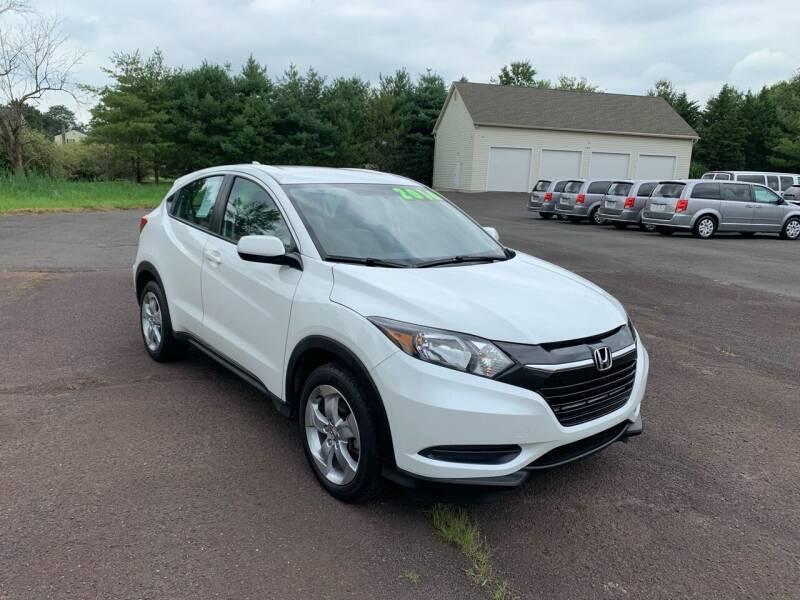 2016 Honda HR-V for sale at Interstate Fleet Inc. Auto Sales in Colmar PA