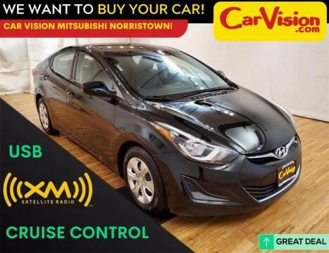 2016 Hyundai Elantra for sale at Car Vision Mitsubishi Norristown in Trooper PA