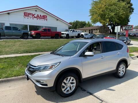 2015 Honda CR-V for sale at Efkamp Auto Sales LLC in Des Moines IA