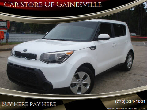 2014 Kia Soul for sale at Car Store Of Gainesville in Oakwood GA