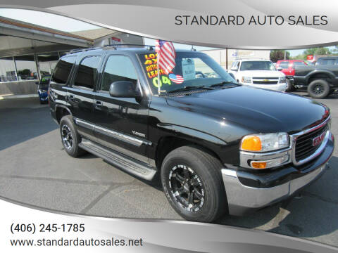 2004 GMC Yukon for sale at Standard Auto Sales in Billings MT