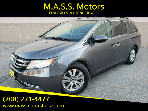 2014 Honda Odyssey for sale at M.A.S.S. Motors in Boise ID