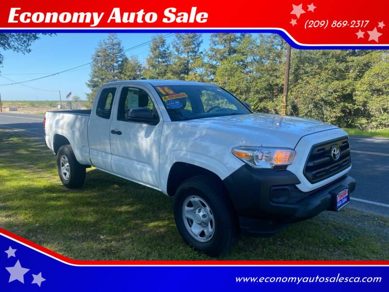 2016 Toyota Tacoma for sale at Economy Auto Sale in Modesto CA