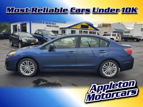 2012 Subaru Impreza for sale at Appleton Motorcars Sales & Service in Appleton WI