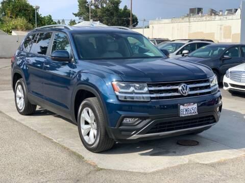 2018 Volkswagen Atlas for sale at H & K Auto Sales & Leasing in San Jose CA