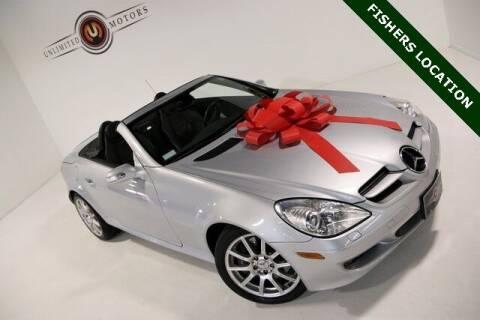 2005 Mercedes-Benz SLK for sale at Unlimited Motors in Fishers IN