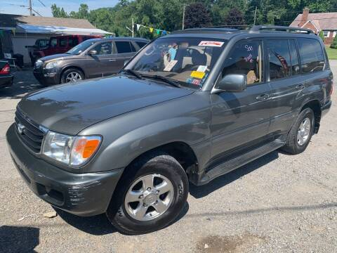 2001 Toyota Land Cruiser for sale at Trocci's Auto Sales in West Pittsburg PA