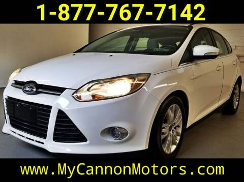 2012 Ford Focus for sale at Cannon Motors in Silverdale PA