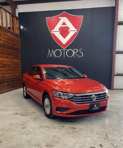 2020 Volkswagen Jetta for sale at A & V MOTORS in Hidalgo TX