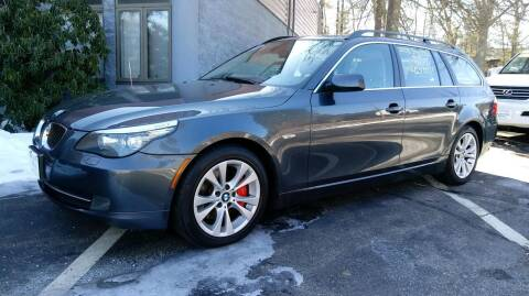 2008 BMW 5 Series for sale at Dave's Garage Inc in Hampton Beach NH
