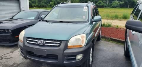 2005 Kia Sportage for sale at Falmouth Auto Center in East Falmouth MA