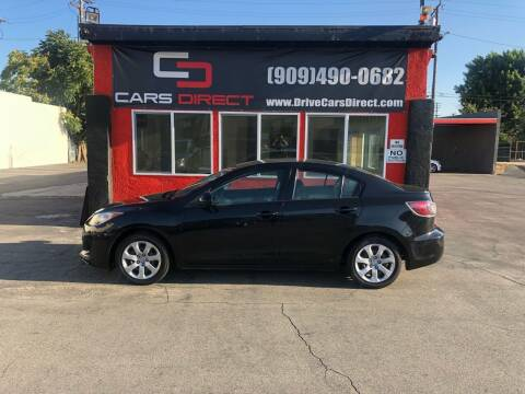2012 Mazda MAZDA3 for sale at Cars Direct in Ontario CA