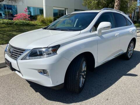 2013 Lexus RX 450h for sale at Donada  Group Inc in Arleta CA