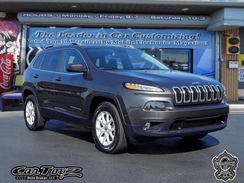 2016 Jeep Cherokee for sale at Distinctive Car Toyz in Pleasantville NJ