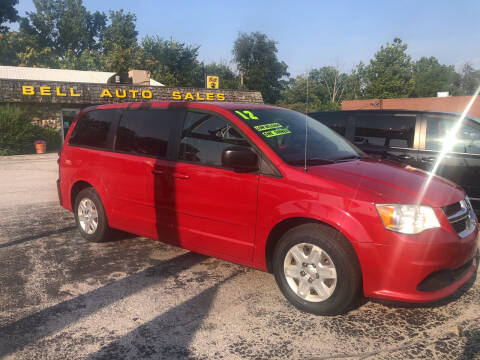 2012 Dodge Grand Caravan for sale at BELL AUTO & TRUCK SALES in Fort Wayne IN