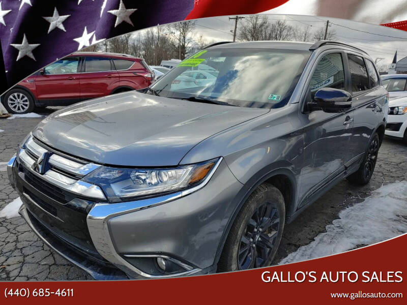 2018 Mitsubishi Outlander for sale at Gallo's Auto Sales in North Bloomfield OH