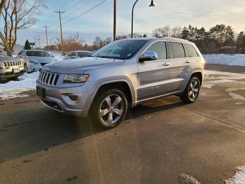 2014 Jeep Grand Cherokee for sale at Premier Motors LLC in Crystal MN