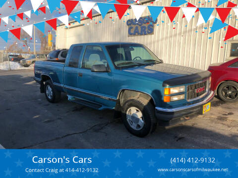 1997 GMC Sierra 1500 for sale at Carson's Cars in Milwaukee WI