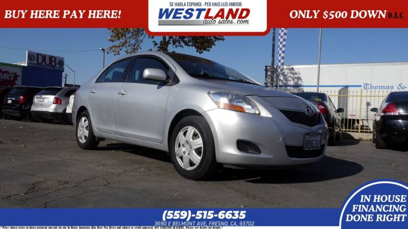 2011 Toyota Yaris for sale at Westland Auto Sales on 7th in Fresno CA
