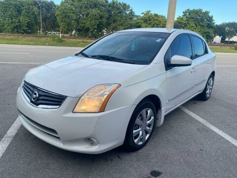 2011 Nissan Sentra for sale at UNITED AUTO BROKERS in Hollywood FL