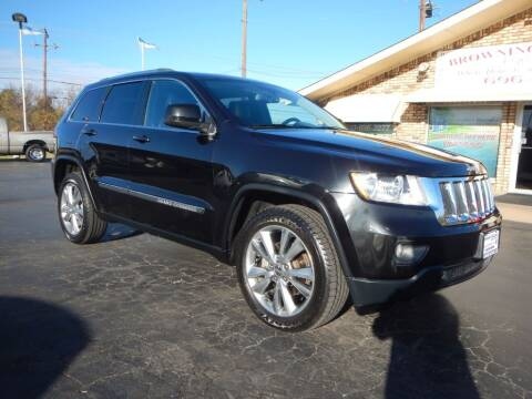 2013 Jeep Grand Cherokee for sale at Browning's Reliable Cars & Trucks in Wichita Falls TX
