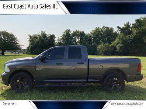 2016 RAM Ram Pickup 1500 for sale at East Coast Auto Sales llc in Virginia Beach VA