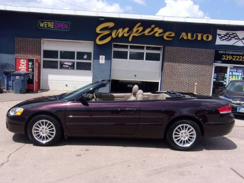 2004 Chrysler Sebring for sale at Empire Auto Sales in Sioux Falls SD