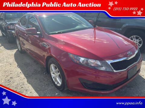 2011 Kia Optima for sale at Philadelphia Public Auto Auction in Philadelphia PA
