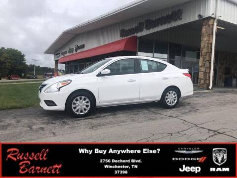 2019 Nissan Versa for sale at Russell Barnett Chrysler Dodge Jeep Ram in Winchester TN