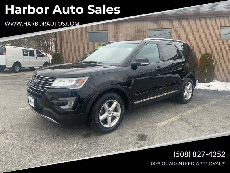 2017 Ford Explorer for sale at Harbor Auto Sales in Hyannis MA