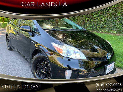 2012 Toyota Prius for sale at Car Lanes LA in Glendale CA