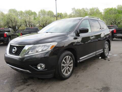 2016 Nissan Pathfinder for sale at Low Cost Cars North in Whitehall OH