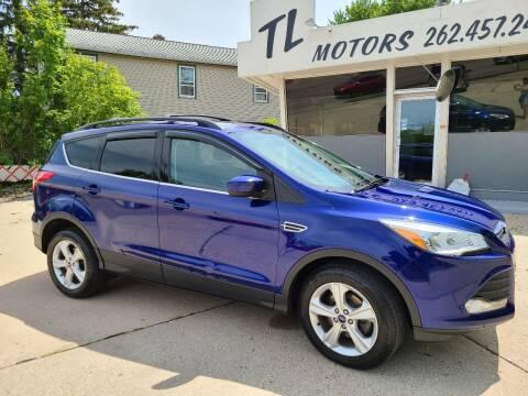 2013 Ford Escape for sale at TL Motors LLC in Hartford WI
