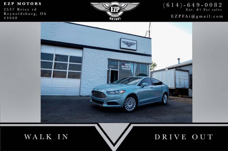 2013 Ford Fusion Hybrid for sale at EZP Motors in Reynoldsburg OH