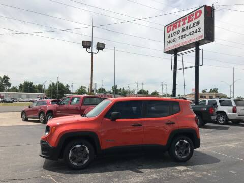 2015 Jeep Renegade for sale at United Auto Sales in Oklahoma City OK