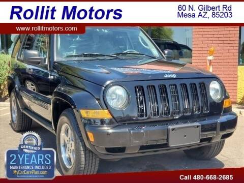 2005 Jeep Liberty for sale at Rollit Motors in Mesa AZ