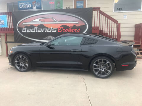 2016 Ford Mustang for sale at Badlands Brokers in Rapid City SD