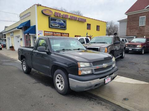 2005 Chevrolet Silverado 1500 for sale at Bel Air Auto Sales in Milford CT