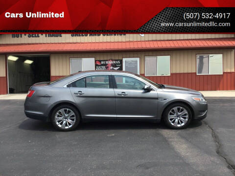 2012 Ford Taurus for sale at Cars Unlimited in Marshall MN