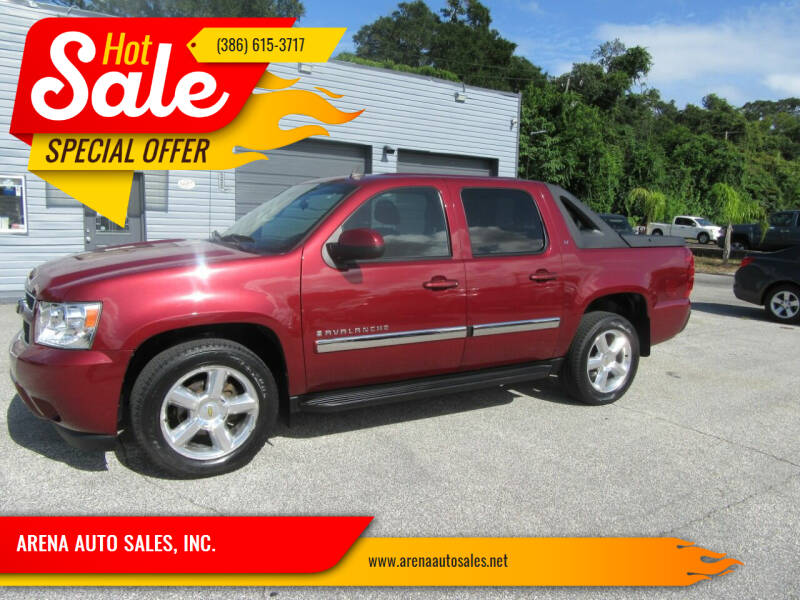 2009 Chevrolet Avalanche for sale at ARENA AUTO SALES,  INC. in Holly Hill FL