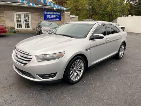 2014 Ford Taurus for sale at Brucken Motors in Evansville IN